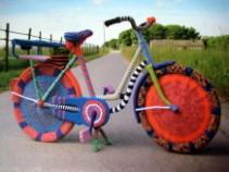 Textiler Kunstwanderweg Much 2013